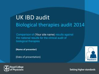 UK IBD audit