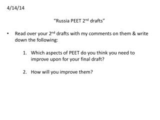 "4/14/14 ""Russia PEET 2 nd drafts"""