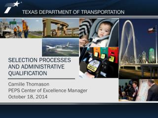 Selection Processes and Administrative Qualification
