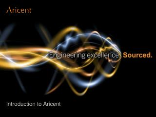 Introduction to Aricent