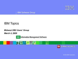IBM Topics