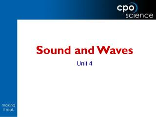 Sound and Waves