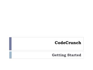 CodeCrunch