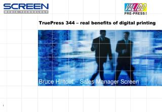 TruePress 344 – real benefits of digital printing