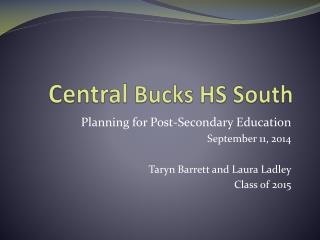 Central Bucks HS South