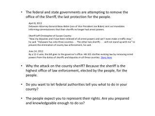 SheriffTalkingPoints