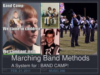 Marching Band Methods