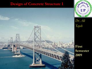 Design of Concrete Structure I