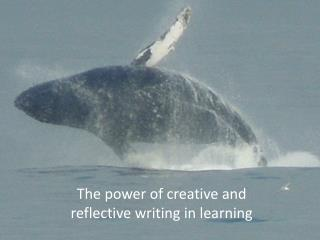 The power of creative and reflective writing in learning