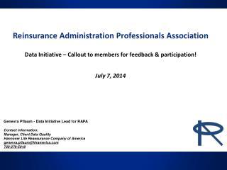 Reinsurance Administration Professionals Association