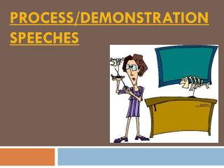 Process/Demonstration Speeches