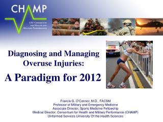 Diagnosing and Managing Overuse Injuries: