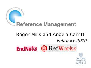 Reference Management