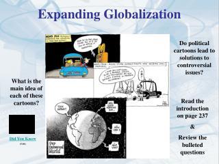 Expanding Globalization