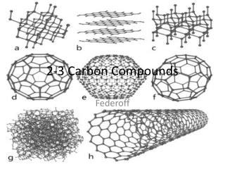 2-3 Carbon Compounds