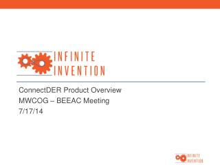 ConnectDER Product Overview MWCOG – BEEAC Meeting 7/17/14