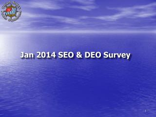Why Survey? 	No hard data on SEO opinions 	Build cohesiveness 	Better redirect our efforts