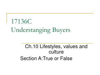 17136C Understanging Buyers