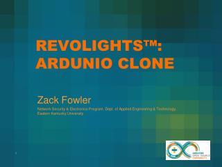 REVOLIGHTS™: ARDUNIO CLONE