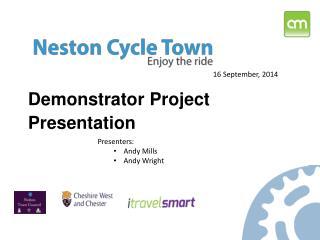 Demonstrator Project Presentation