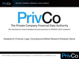 PRIVATE COMPANY FINANCIAL INTELLIGENCE