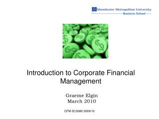Introduction to Corporate Financial Management