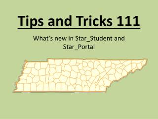 Tips and Tricks 111