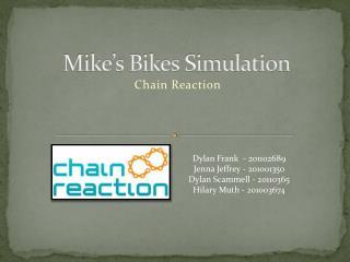 Mike's Bikes Simulation