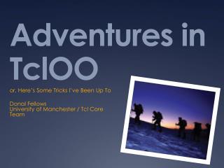 Adventures in TclOO