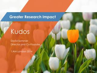 Greater Research Impact