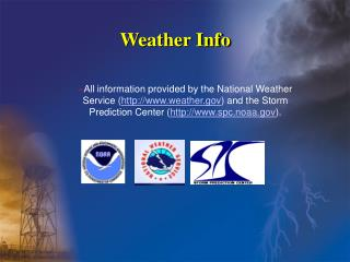 Weather Info