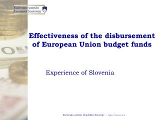 Effectiveness of the disbursement of European Union budget funds