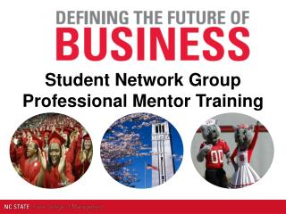 Student Network Group Professional Mentor Training