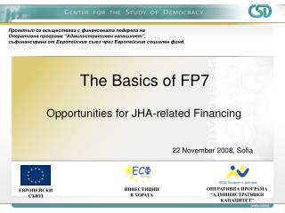 The Basics of FP7