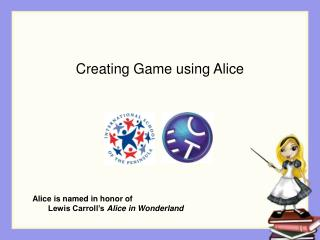 Creating Game using Alice