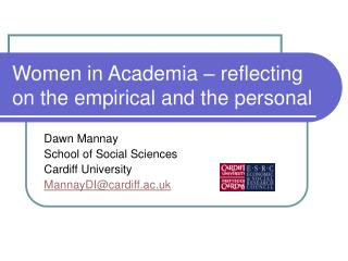 Women in Academia – reflecting on the empirical and the personal