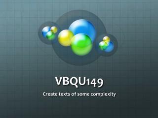 VBQU149