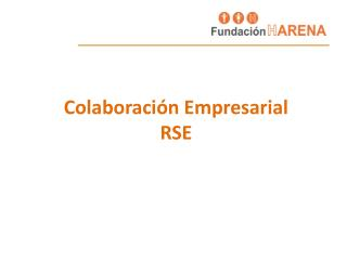 Colaboración Empresarial RSE