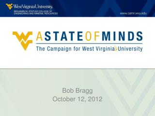 A State of Minds: The Campaign for West Virginia's University