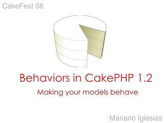 Behaviors in CakePHP 1.2