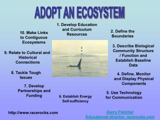 ADOPT AN ECOSYSTEM