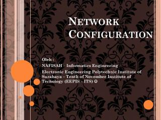 Network Configuration