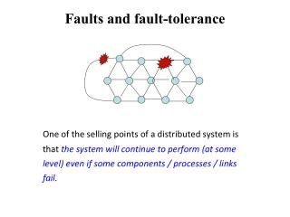 Faults and fault-tolerance
