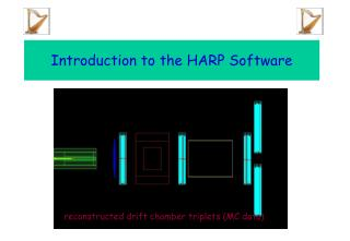 Introduction to the HARP Software