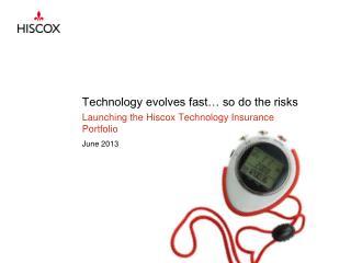 Technology evolves fast… so do the risks