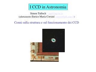 I CCD in Astronomia