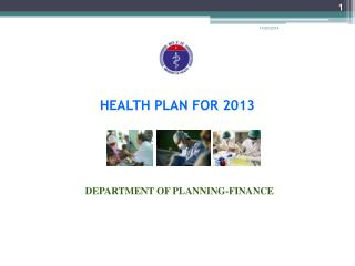 HEALTH PLAN FOR 2013