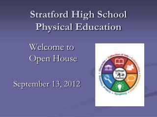 Stratford High School Physical Education