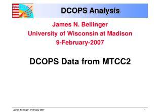 DCOPS Analysis