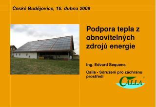 České Budějovice, 16. dubna 2009